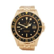 Rolex GMT-Master Yellow gold 40mm Black United Kingdom, Bishop's Stortford