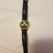 Swatch Rare Vintage Fossil Triple Date Moon Phase Men's Watch