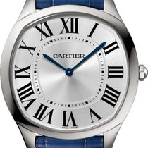 Cartier Drive de Cartier Steel 39mm Silver Roman numerals