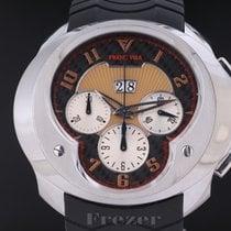 Franc Vila Chronograph 52mm Automatik gebraucht Schwarz
