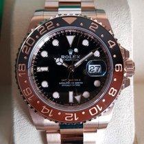 Rolex GMT-Master new 40mm Rose gold