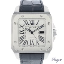 Cartier Santos 100 tweedehands 38.7mm Staal