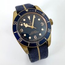Tudor Chronometer 43mm Automatik 2017 gebraucht Black Bay Bronze Blau
