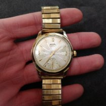 Enicar 35mm Manual winding 1964 pre-owned Ultrasonic Champagne