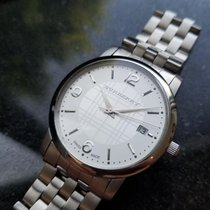 Burberry Steel 37mm Quartz pre-owned
