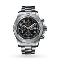 Breitling Super Avenger II Steel Black United States of America, Iowa, Des Moines