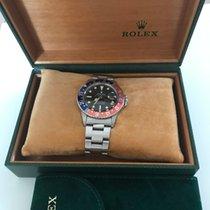 Rolex GMT-Master Acier 40mm Noir Sans chiffres France, boulogne billancourt