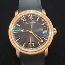 Blancpain Léman Rose gold 40mm Black