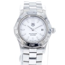 TAG Heuer Women's watch Aquaracer Lady 27mm Quartz pre-owned Watch only 2010