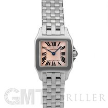 Cartier Santos Demoiselle 20mm Перламутровый