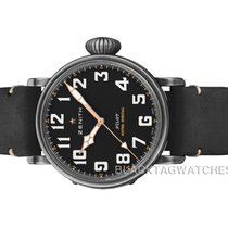 Zenith Steel Automatic Black Arabic numerals 45mm new Pilot Type 20 Extra Special