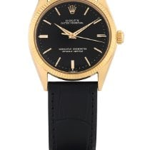 Rolex Rose gold Automatic Black 936mm Oyster Perpetual
