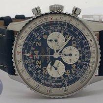 Breitling Navitimer Cosmonaute usato 41mm Nero Cronografo Pelle