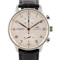 IWC Portuguese Chronograph Acciaio 41mm Bianco Italia, BRESCIA