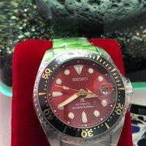 Seiko Titanium Automatic Red No numerals 51mm new Prospex