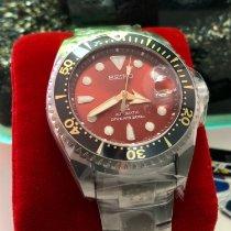 Seiko Prospex Titanium 51mm Red No numerals
