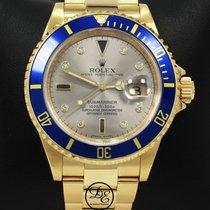 Rolex Submariner Date Жёлтое золото 40mm Cеребро