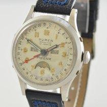 BUREN Grand Prix Phoenix Triple Calendar Moonphase 1950 gebraucht