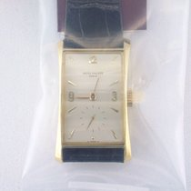 Patek Philippe Hour Glass Yellow gold 25mm Silver Arabic numerals