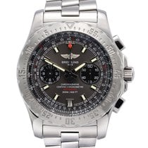 Breitling Skyracer Steel 43,5mm Grey No numerals