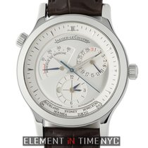Jaeger-LeCoultre Master Geographic Steel 38mm Silver United States of America, New York, New York