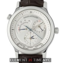 Jaeger-LeCoultre Master Geographic Otel 38mm Argint
