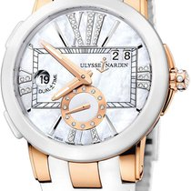 Ulysse Nardin 246-103-391 Rose gold 2011 Executive Dual Time Lady 50mm new United States of America, New York, Brooklyn