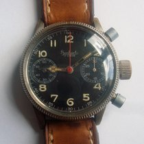 Hanhart Two Registers Chronograph WWII German Military