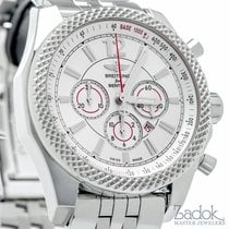 Breitling for Bentley Baranato 42 Chronograph White Dial Steel...