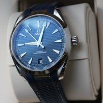 Omega Seamaster Aqua Terra Acier 41mm Bleu Sans chiffres