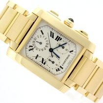 Cartier TANK FRANCAISE 18K/750 YELLOW GOLD  1830