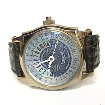 Roger Dubuis Horloger Genovis Symphatie 18K White Gold Retrograde
