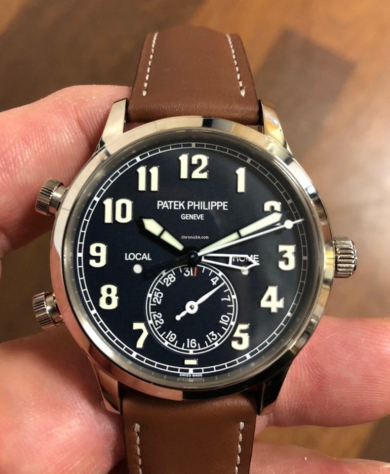 Patek Philippe Travel Time/ Ref-5524G-001/ Weißgold/ aus ...