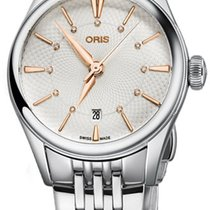 Oris Artelier Date Steel 28mm Silver United States of America, New York, Airmont