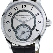 Frederique Constant 42mm Quartz nieuw Horological Smartwatch Wit