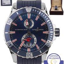 Ulysse Nardin 2014  Maxi Marine Chronometer Diver Blue 42.7mm...