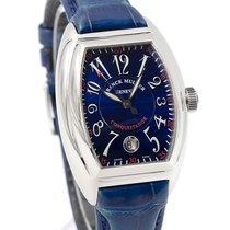 Franck Muller Conquistador 8005 SC - Blue Dial 34mm Men's Watch