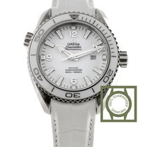 Omega Seamaster Planet Ocean 600M Co-Axial 37.5 mm Steel White...