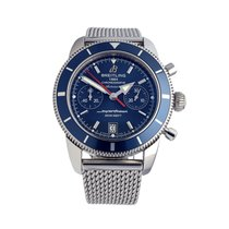 Breitling A23370 Steel 2015 Superocean Héritage Chronograph 44mm pre-owned