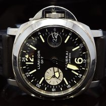 Panerai Luminor GMT Automatic Steel 44mm Black Arabic numerals United Kingdom, Essex