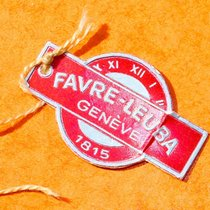 Favre-Leuba FAVRE-LEUBA GENÈVE 1815 RARE & COLLECTIBLES RED TAG FROM 50' 1950 pre-owned