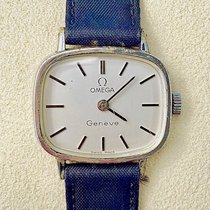 Omega Genève Steel 26mm White No numerals