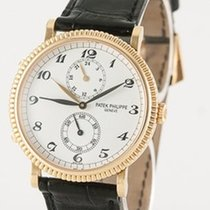 Patek Philippe Travel Time Yellow gold 34mm White