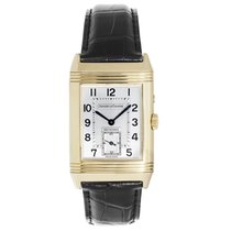 Jaeger-LeCoultre Reverso Duoface pre-owned 36mm Crocodile skin