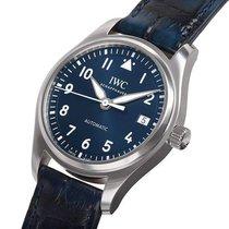 IWC Pilot's Watch Automatic 36 Stal 36mm Niebieski Arabskie Polska, Warszawa