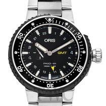 Oris ProDiver GMT 01 748 7748 7154-07 8 26 74PEB new