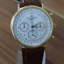 IWC Portofino Chronograph Gelbgold 35mm Weiß Keine Ziffern Deutschland, Niederbayern