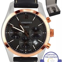 Longines Conquest Classic Gold/Steel 41mm Black United States of America, New York, Massapequa Park