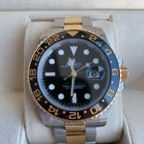 Rolex GMT-Master II Gold/Steel 40mm Black No numerals UAE, 4016