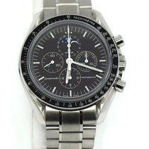 Omega Speedmaster Professional Moonwatch Moonphase Steel 42mm Black No numerals United States of America, New York, New York